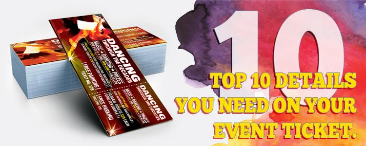 best ticket event blog best ticket printing
