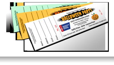 economy raffle ticket printing